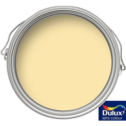 Image for Dulux Once Vanilla White - Matt Emulsion Paint - 50ml Tester from StoreName