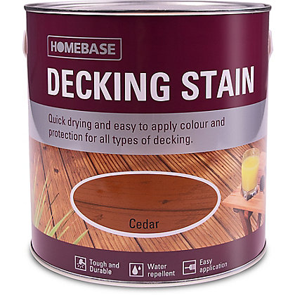 Image for Decking Stain - Cedar - 2.5L from StoreName