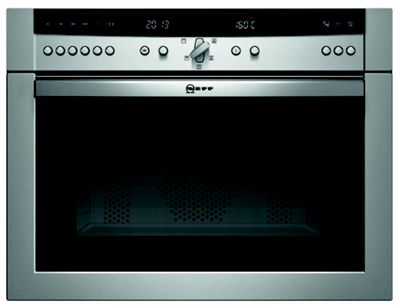 Neff C57M70N3GB Compact Microwave Combination Oven - Stainless Steel