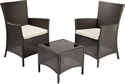 Panama Tea for 2 Garden Furniture Set £80 00 at Homebase