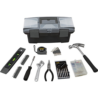 Image for Homebase 41 Piece Starter Tool Kit With Toolbox from StoreName