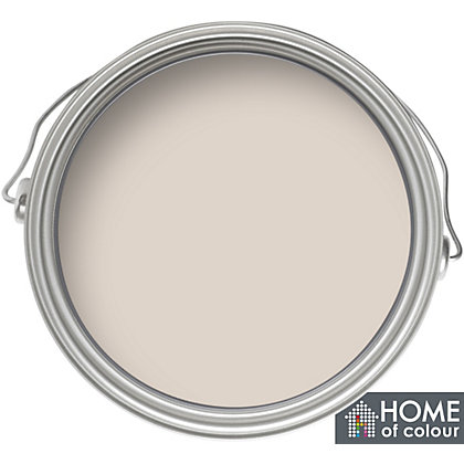 Image for Home of Colour Soft Pebble - Silk Emulsion Paint - 5L from StoreName