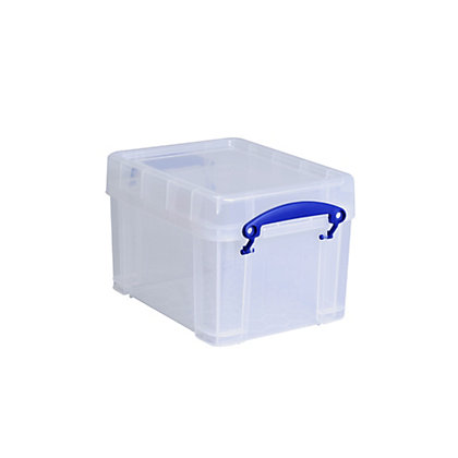 Image for Really Useful Storage Box - Clear - 3L from StoreName