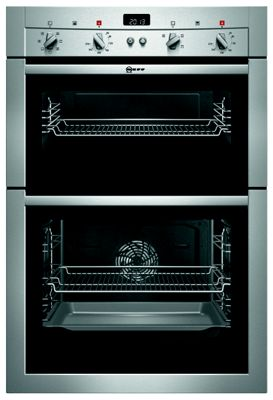 Image of Neff U14M42N3GB Built-in Multifunction Double Oven - Stainless Steel