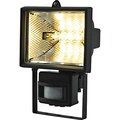 Image for Black 400W PIR Floodlight from StoreName