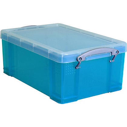 Image for Really Useful Storage Box - Blue - 9L from StoreName