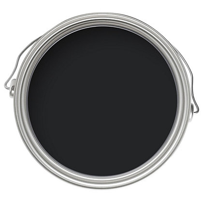 Image for Farrow & Ball No.256 Pitch Black - Full Gloss Paint - 750ml from StoreName