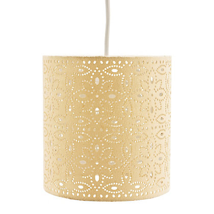 Image for Alexia Cylinder Shade - Cream from StoreName
