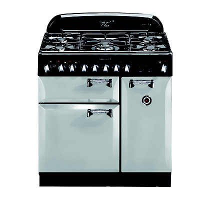 Image for Rangemaster 100680 Elan 90cm Dual Fuel Range Cooker -Royal Pearl from StoreName