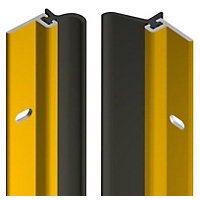 Stormguard Heavy Duty Adhesive Door Set - Gold Effect