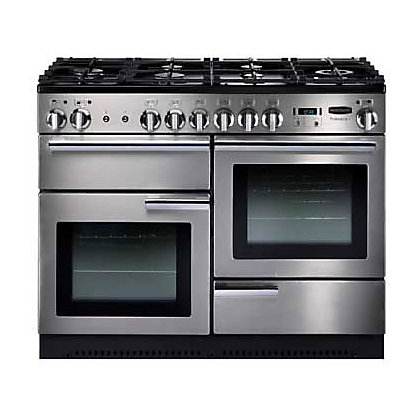 Image for Rangemaster Professional Plus 84320 110cm Dual Fuel Cooker - Silver from StoreName