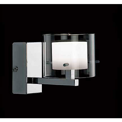 Image for Cuba Wall Light - Chrome - 10cm from StoreName