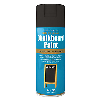 Image for Rust-Oleum Chalk Board Spray Paint - Black - 400ml from StoreName