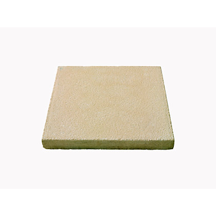 Image for Brett Textured Paving Single Size Patio Pack 450x450mm 11.34sq m 56 Pack - Buff from StoreName