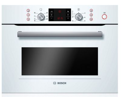 Bosch HMT35M653B Compact Microwave  Oven - Brushed Steel.