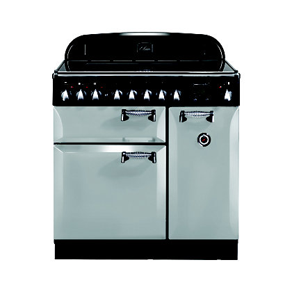 Image for Rangemaster 100690 Elan 90cm Ceramic Range Cooker - Royal Pearl from StoreName