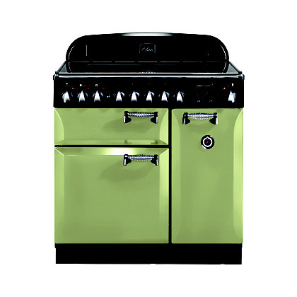 Image for Rangemaster 100970 Elan 90cm Ceramic Range Cooker - Olive Green from StoreName
