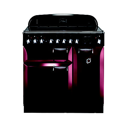 Image for Rangemaster 101170 Elan 90cm Ceramic Range Cooker - Cranberry from StoreName