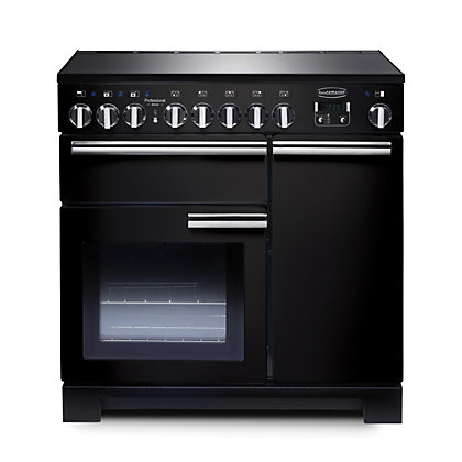 Image for Rangemaster Professional Deluxe 90cm Induction Range Cooker - Black from StoreName