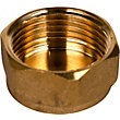 Brass Cap 3/4in