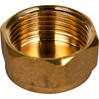 Image for Brass Cap 3/4in from StoreName