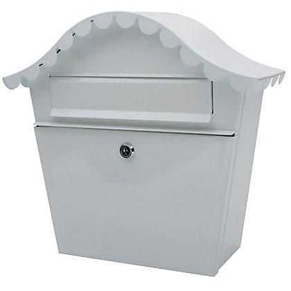 Image for London Letter Box - White from StoreName