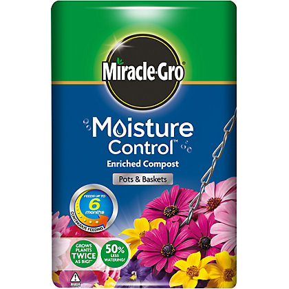 Image for Miracle-Gro Moisture Control Compost - 50L from StoreName