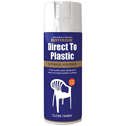 Image for Rust-Oleum Direct to Plastic Spray Paint - 400ml from StoreName