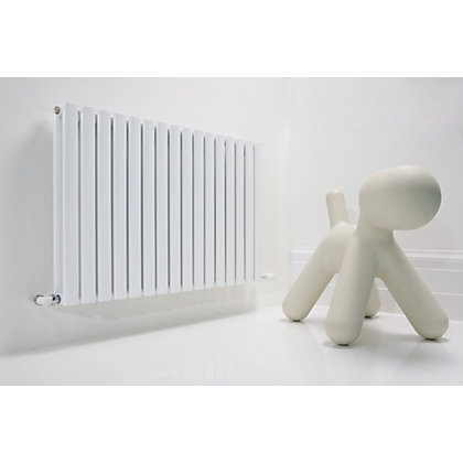 Image for Hampton Double Radiator - 592mm x 600mm - White from StoreName