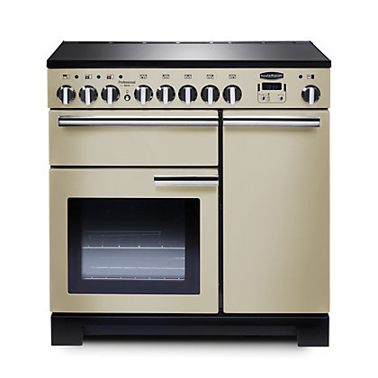 Image for Rangemaster Professional Deluxe 90cm Induction Range Cooker - Cream from StoreName