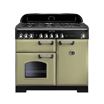 Image for Rangemaster 100910 Classic Deluxe 100cm Dual Fuel Range Cooker from StoreName