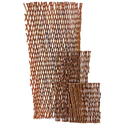Image for Decorative Willow Expandable Garden Trellis - 1.8M from StoreName