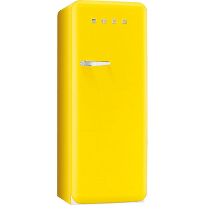 Image for Smeg FAB28QG1 Right Hand Hinged Fridge with Ice Box - Yellow from StoreName