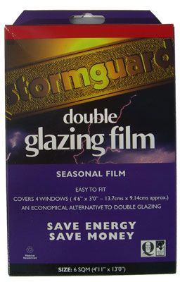 Stormguard Double-Glazing Film - 6 sq m