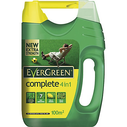 Image for EverGreen Complete 4 in 1 Lawncare Spreader - 100 sq m from StoreName