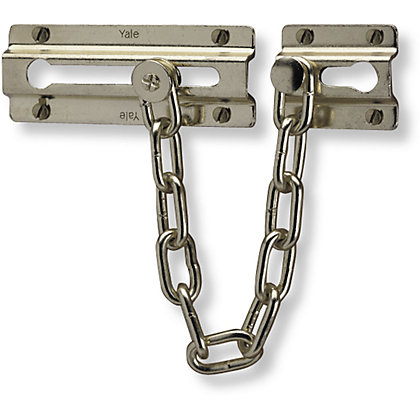 Image for Yale Door Chain - Chrome from StoreName