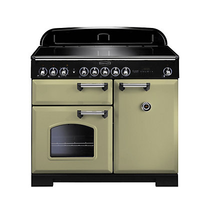 Image for Rangemaster Classic Deluxe 100cm Range Cooker - Olive Green from StoreName
