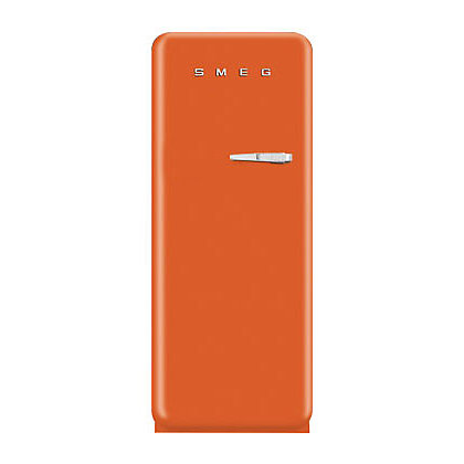 Image for Smeg FAB28YO1 Left Hand Hinged Fridge with Ice Box - Orange from StoreName