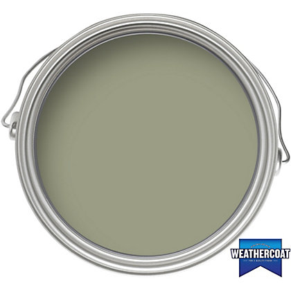 Image for Homebase Weathercoat Fern - Exterior Satin Paint - 750ml from StoreName