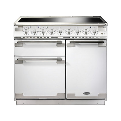 Image for Rangemaster 100210 Elise 100cm Induction Range Cooker - White. from StoreName