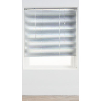 Image for Home of Style Silver Aluminium 25mm Venetian Blind - 120cm from StoreName