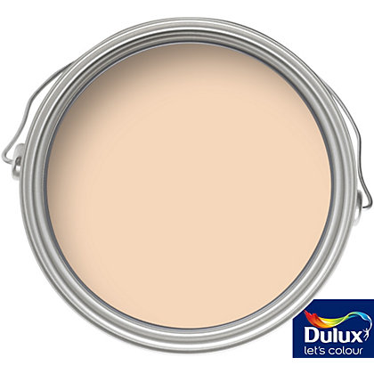 Image for Dulux Soft Peach - Matt Emulsion Paint - 5L from StoreName
