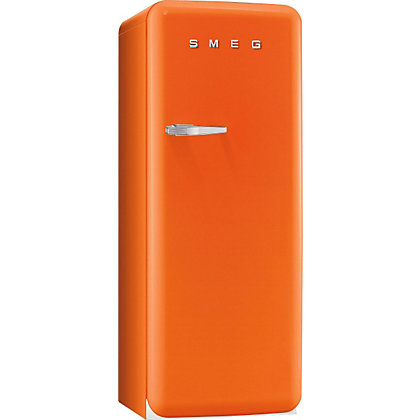 Image for Smeg FAB28QO1 Right Hand Hinged Fridge with Ice Box - Orange from StoreName