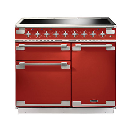 Image for Rangemaster Elise 100cm Induction Range Cooker - Cherry Red from StoreName