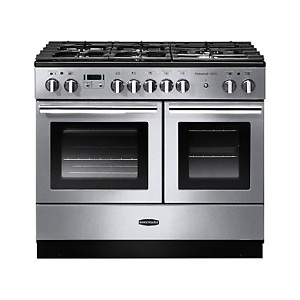 Image for Rangemaster Professional Plus 100cm FX Dual Fuel Range Cooker - Silver from StoreName