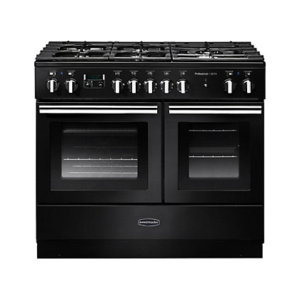 Image for Rangemaster Professional Plus 100cm FX Dual Fuel Range Cooker - Black from StoreName