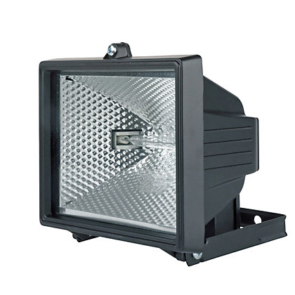 Image for Black 400W Floodlight from StoreName