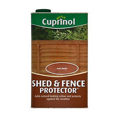 Image for Cuprinol Shed and Fence Protector - Acorn Brown - 5L from StoreName