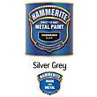 Hammerite Silver Grey - Hammered Exterior Metal Paint - 250ml