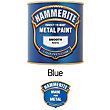 Hammerite Blue - Exterior Smooth Metal Paint - 250ml